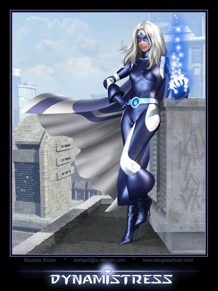 Dynamistress second costume