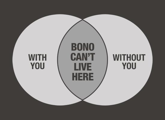 Bono is homeless.